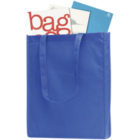 Non-woven pp gusseted tote/shopper bag