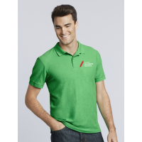 polo shirt (cols) - transfer printed