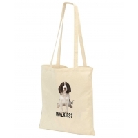 Cotton Shopper tote bag (long handles, full colour)