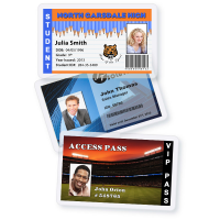 Encapsulated photo ID cards