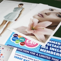 Printable vinyl by the metre (5 year self adhesive)